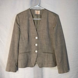Pendleton Country Sophisticate 10 Blazer Silk 1266